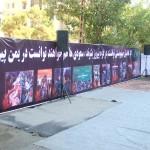 تجمع عزاداران امام صادق علیه السلام در روز شهات ایشان در محله مجیدیه تهران (1)