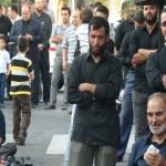 تجمع عزاداران امام صادق علیه السلام در روز شهات ایشان در محله مجیدیه تهران (18)