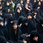 تجمع عزاداران امام صادق علیه السلام در روز شهات ایشان در محله مجیدیه تهران (2)