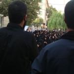 تجمع عزاداران امام صادق علیه السلام در روز شهات ایشان در محله مجیدیه تهران (21)