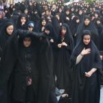 تجمع عزاداران امام صادق علیه السلام در روز شهات ایشان در محله مجیدیه تهران (22)
