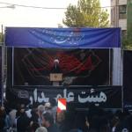 تجمع عزاداران امام صادق علیه السلام در روز شهات ایشان در محله مجیدیه تهران (6)